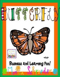 Butterflies are so amazing!  This is a fun unit that brings the life cycle alive!