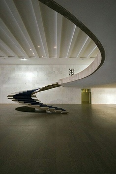 Round Modern Stairs