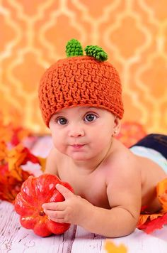 This listing is for our Crochet Pumpkin Hat Pattern. dda2f6152a35