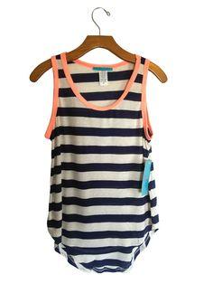 Julie's Closet Striped Tank Top #stellasaksa #juliescloset #striped #tank #top