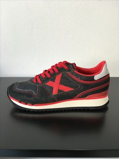 MUNICH nou munich washed Black Red