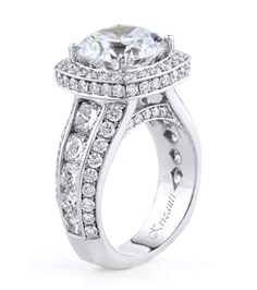 18KTW ENGAGEMENT RING, DIAMOND 3.72CT ROYAL COLLECTION