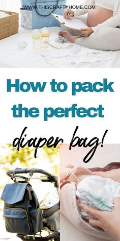 Are you a new mom and struggling to pack all the essentials when leaving the house? Check out these great tips for packing the perfect diaper bag! All the things you need for your newborn and even for you! Click here for a list of must haves in your diaper bag. Good Parenting, Parenting Hacks, Diaper Bag Essentials, Baby Must Haves, Diaper Bag Backpack, Second Baby, Breastfeeding Tips, Toddler Activities, New Moms