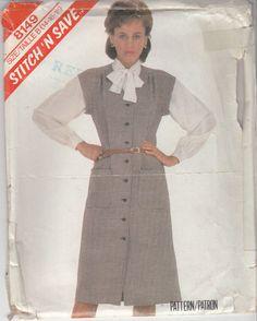 Secretary Blouse Pattern Vintage 80s Pattern by HoneymoonBus, $7.99