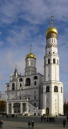 Церковь Иоанна Лествичника с колокольней Ивана Великого, Москва