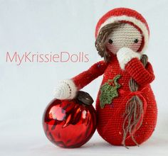 Oh oohh, it's almost Christmas!! :-) Krissie the Matryoshka / Rudolf Reindeer - MyKrissieDolls