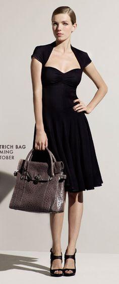 Karen Millen 50s crepe dress.  An online exclusive.