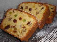 Plum Cake, Loaf Cake, Dried Fruit, Banana Bread, Yogurt, French Toast, Breakfast, Desserts, Cakes