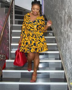 Looking for the best ankara fashion creative ideas and inspiration for your next fashion project? Look no further, here's the complete 2018 Most Creative Ankara Styles And Designs Trendy Ankara Styles, Kente Styles, Ankara Gown Styles, Ankara Gowns, Ankara Dress, African Dresses For Women, African Attire, African Wear, African Fashion Dresses