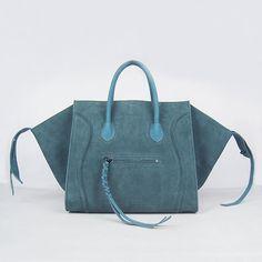 Buy Celine Boston Square Suede Bag Deep Blue Online Celine Tote Bag 209b167d1ac2c