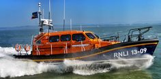 """The new Ilfracombe Shannon lifeboat """"The Barry and Peggy High Foundation"""" 13-09 ON 1316"""