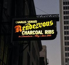 All time FAVORITE ribs!!!! Rendezvous in Memphis, Tennessee