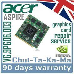 nVidia VG.9PG0Y.005 Acer Aspire 8930G Laptop MXM Video Card GPU Repair Service