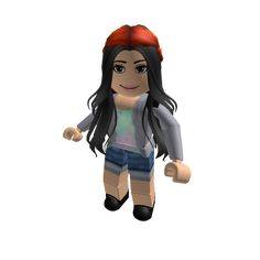 Cropped Pink Adidas Hoodie w Blonde Ext Roblox