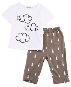 >> Click to Buy << Newborn 2016 Cute Baby Boy Clothing Sets Toddler Summer Tops T-shirt+Pants 2PCS Outfits Clothes Set #Affiliate