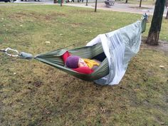 Picture of Complete Camping Hammock with Screen and Rainfly - adamtylernelson.  Instructables.com