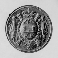 Seal with the coat of arms of  Jean Baptiste Bernadotte, Prince of Ponte Corvo, from 1806-1810.