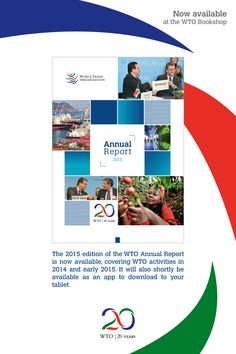 #WTO issues 2015 Annual Report