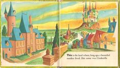 Fairy Tale Origins — Walt Disney's Cinderella, a children's book from. Cinderella Story Book, Walt Disney Cinderella, Children's Book Illustration, Book Illustrations, Diy Birthday Decorations, Hopes And Dreams, Little Golden Books, Fairy Godmother, Childrens Books
