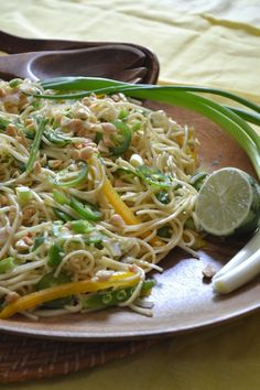 Vegetarian Asian Noodle Salad