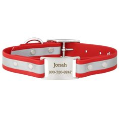 """""""Best collar ever!  Love this collar! We have heard several comments about this collar at our local dog park and I've highly recommended this website to everyone. Thank you for a great product!"""" - Jennifer W."""