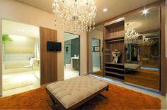 Espelho bronze na decoração - veja ambientes lindos com essa tendência! - DecorSalteado