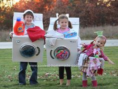 Homemade costumes! A whole website of hundreds of costume ideas. This is too cute!