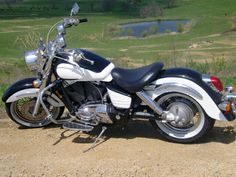 1999 Honda Shadow Aero 1100 pull the front fender off and you're in business