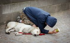 Heartwarming Photographs of Homeless People with Their Dogs