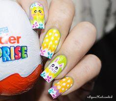 Nail Art Pâques pour le Nailstorming - LizanaNails.com