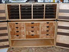 Dengler Hotel Wood Drag Slot Car Box, 29, Unfinished