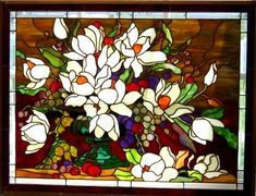 T.Flanagan-Stained Glass Magnolia Elegance from In Full Bloom CD  http://www.panedexpressions.com/