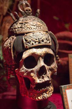 Tibetan Skull Mask                                                       …