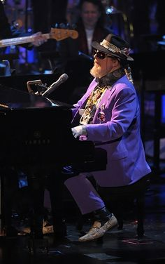Dr. John (Mac Rebennack)--New Orleans singer-songwriter and piano player.