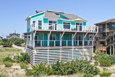 AVON  may only allow small pets but beautiful interior and sunroom with king, queen, queen.  .Vacation Rentals | Our Dream Getaway - Oceanfront Outer Banks Rental | 810 - Hatteras Rental