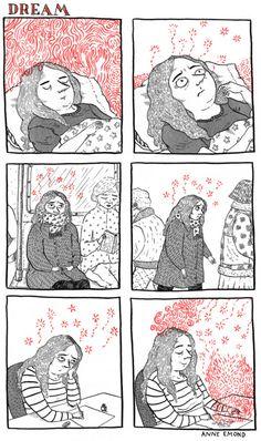 drawing dreams:   Comiques - Anne Emond Illustration