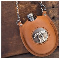 Chanel flask; If I had one, this would be it!