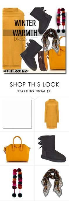 """""""Polyvore dress"""" by soks ❤ liked on Polyvore featuring Zizzi, Givenchy, UGG, Accessorize, Alexander McQueen, Grotesk and polyvoreeditorial"""