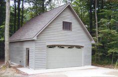 24 X 30 Two Story Garage Garage Plans In 2019 Garage