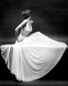 Vanity Fair Sheer Gown Icon, New York, ca. 1950, Mark Shaw