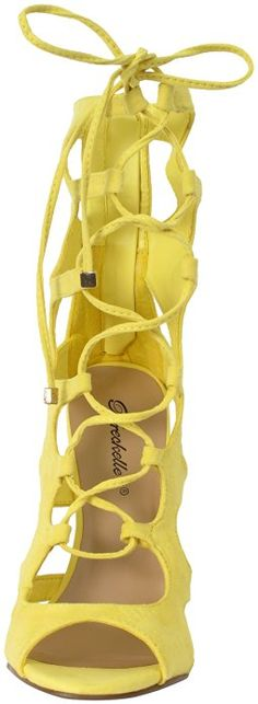 Breckelles Womens Roma-61 Strappy Heels Sandals 4.4 out of 5 stars 57 $13.91 - $35.00