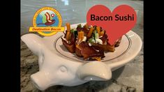 Bacon Videos, Best Bacon, Bacon Recipes, Appetizers For Party, Sushi, Snacks, Breakfast, Easy, Food
