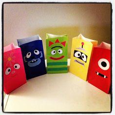 Yo Gabba Gabba Inspired Party Favor Goody bags 10 by JaysFunShop, $24.00