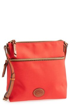 $99, Crossbody Bag Red by Dooney & Bourke. Sold by Nordstrom. Click for more info: http://lookastic.com/women/shop_items/164106/redirect