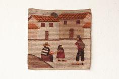 Mexican Mid Century Tapestry Woven Folk Art on Etsy, €50,78