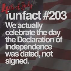 14 Fun and Forgotten Facts About the Fourth of July #funfacts #JulyFourth
