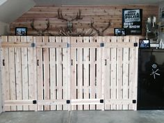 Outdoor like theme for garage organizing
