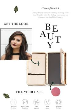 Do not travel without this case!  This new invention is taking the beauty industry by storm with it's innovative compact travel style.