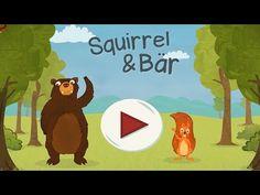 Squirrel & Bär - Kinderspiel App zum Englisch lernen | Beste Kinder Apps - YouTube Ipod Touch, Kindergarten, Squirrel, Bear, Youtube, Video Games, Channel, Europe, Videogames