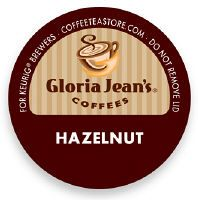 Gloria Jeans Hazelnut Coffee K-Cup (need to try again-couldnt taste the hazelnut flavor)